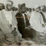 صورة تاريخية لجلالته