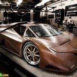 سياره مصنوعه من الخشب6