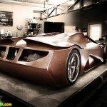 سياره مصنوعه من الخشب11