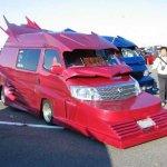جنون ديكورات السيارات 12