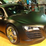 معرض سيارات في دبي4