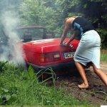 المرأة و السيارة Size:63.7 Kb Dim: 675 x 510