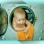 طفل في غسالة Size:26.50 Kb Dim: 433 x 332