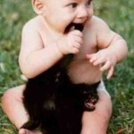 اطفال مع حيوانات4