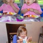 الاطفال وهم ياكلون الليمون ام1