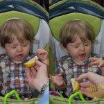 الاطفال وهم ياكلون الليمون ام5