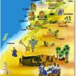 خريطه المغرب الثقافيه