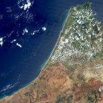 جزء من شمال المغرب