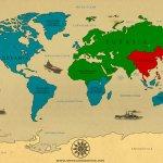 World Map Size:141.40 Kb Dim: 1000 x 687