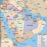خريطة المملكة السعودية Size:69.20 Kb Dim: 460 x 480