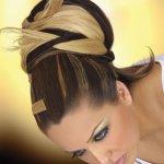 تسريحة الشعر