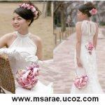 تسريحات العروس مع الورد 10