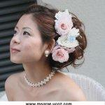 تسريحات العروس مع الورد 11