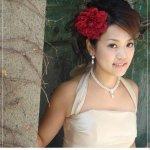 تسريحات العروس مع الورد 14