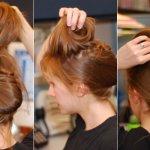 طريقة رفع الشعر بالمنزل......2