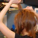 طريقة رفع الشعر بالمنزل......5