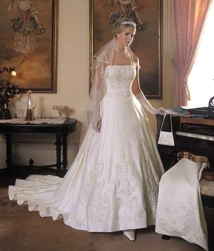 احدث فساتين الزفاف جامدين جداااااااا