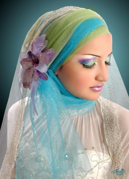 لفات طرح زفاف  لعيون الغاليات 116_94103_1235555793