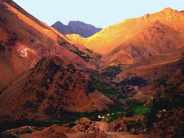 اجمل صور الجبال والسهول