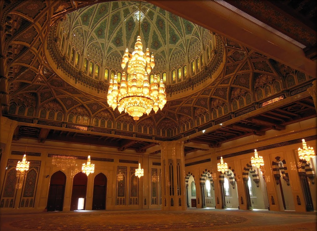 جامع السلطان قابوس الأكبر Size:335.30 Kb Dim: 1021 x 743