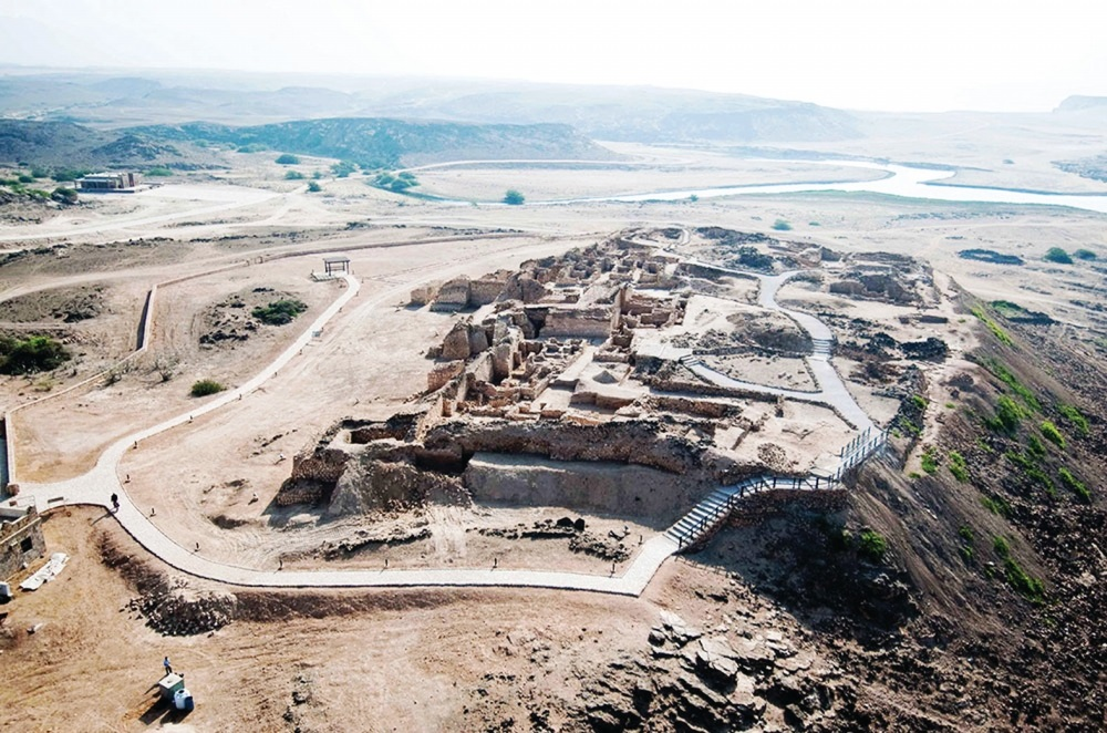 مدينة البليد الأثرية Size:134.90 Kb Dim: 851 x 567