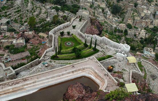 قلعة القاهرة في مدينة تعز، اليمن 575_164190_125519095
