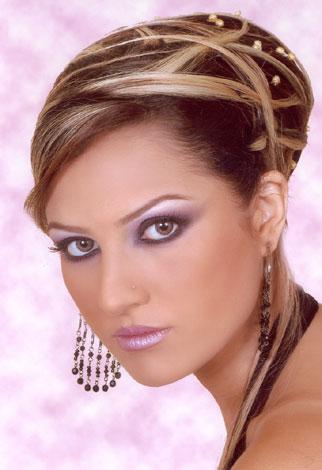 مدل آرایش صورت عربی و خلیجی| L0o3.Com