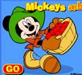 ألعاب ميكي ماوس - جمع التفاح